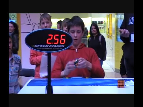 Australian Nationals 2010 - 3x3 Final - 1st Place - Feliks Zemdegs