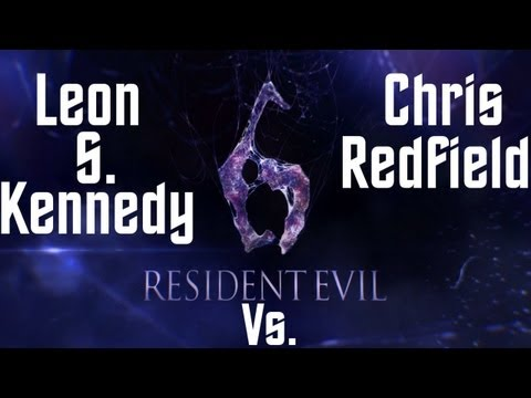 Resident Evil 6 - Leon S. Kennedy Vs. Chris Redfield