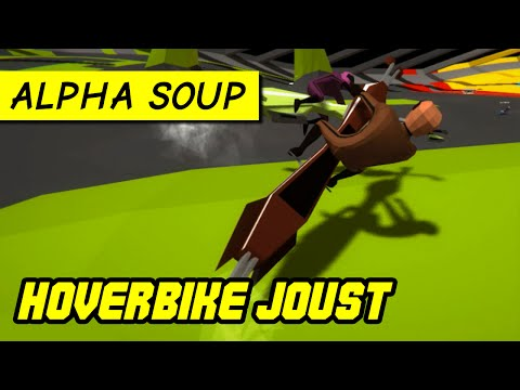 Hoverbike Joust: the ridiculous future of arena combat (PC alpha gameplay)