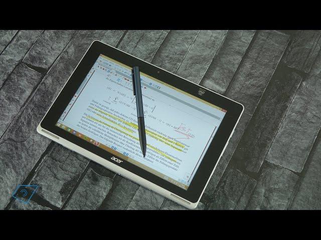 Acer Aspire Switch 10 FHD und die Stylus Funktion