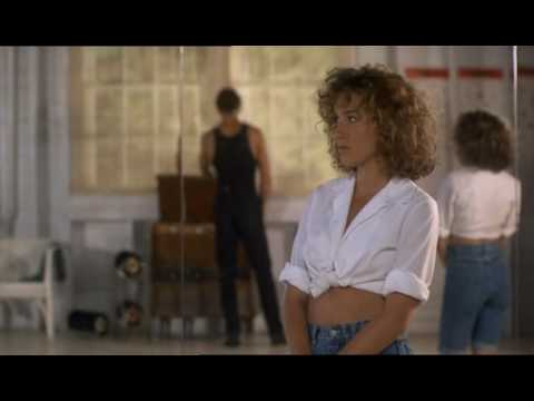 loverboy scene of Dirty Dancing with Patrik Swayze and Jennifer Grey