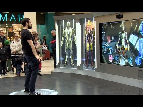 Iron Man 3 - Become Iron Man experience UK tour | HD