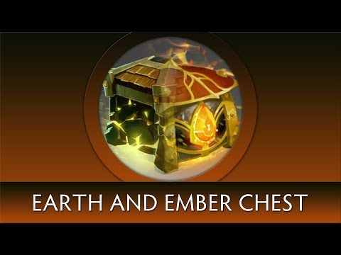 Dota 2 Chest Opening: Treasure of Ember/Earth Essence