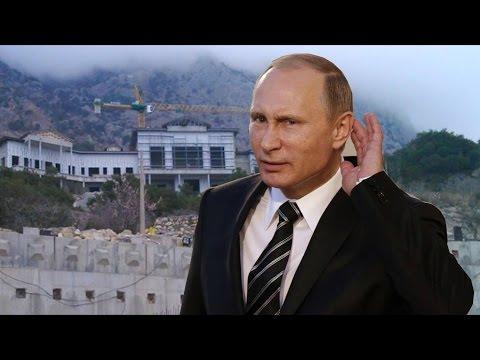 Новый дворец Путина в Крыму. Денег нет, но вы держитесь!