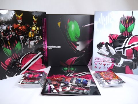 Review: Complete Selection Modification Rider Card (Kamen Rider Decade)