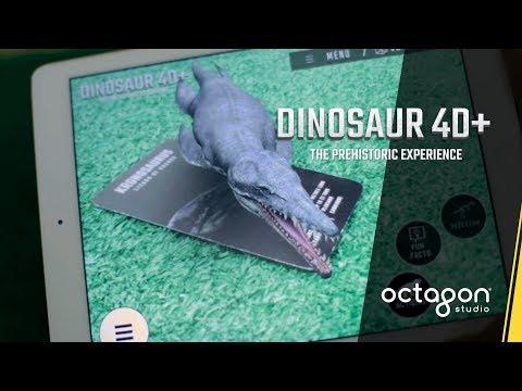 Augmented Reality Flashcards: Dinosaur 4D+ | Octagon Studio