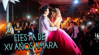 Fiesta de 15 Años Amara Que Linda, Cantamos el ROAST de AEME! y Amara Llora - VLOG #67