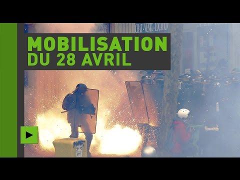 Manifestations loi Travail à Paris : les images les plus spectaculaires du Periscope de RT France