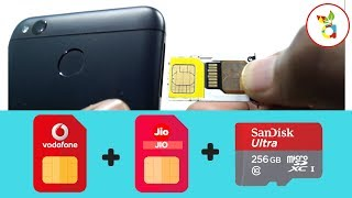 Use Dual Sim Plus Memory Card on Hybrid Slot (HINDI)