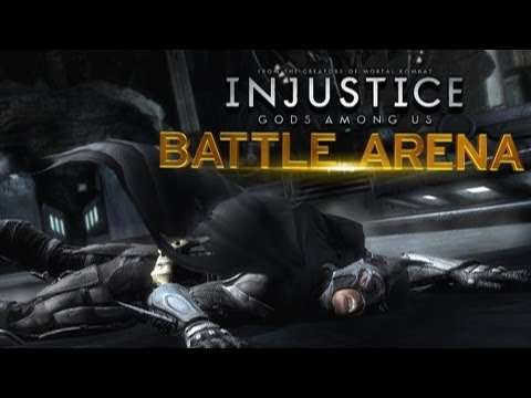 Injustice: Gods Among Us - Injustice Battle Arena Round One FIGHT How To Save Money And Do It Yourself!