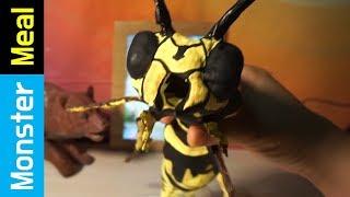 Eating The World's Largest BEE !! | Monster Meal ASMR Eating Sounds | Kluna Tik Style Dinner No Talk