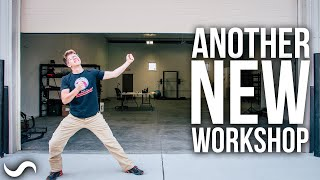 NEW WORKSHOP TOUR!!!