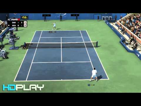 Top Spin 4 - Sampras VS Agassi (Very Hard)