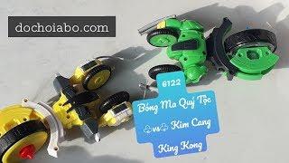Đồ chơi ABO - Ali3phi unbox 6122 Bóng Ma Quý Tộc ♧vs♧ Kim Cang King Kong