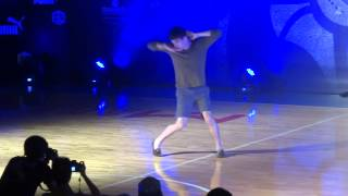 Hong Kong Best Dance Crew Sep 14 2013-Judge Performance by Ian Eastwood