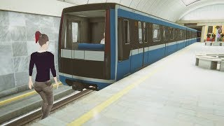 Became a Subway Driver, Got Fired for Crashing - Subway Simulator