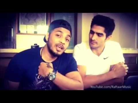 Raftaar with Olympics Ghusandbaaz Vijender Singh | Dhup Chik | Fugly
