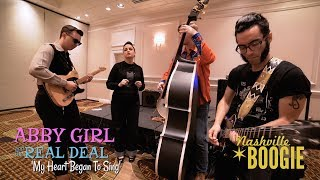 'My Heart Began To Sing' Abby Girl and the Real Deal NASHVILLE BOOGIE (bopflix sessions) BOPFLIX