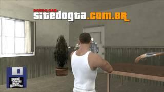 Pack de armas dos caça-fantasmas para GTA San Andreas