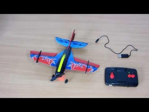 Mini Bull  RC Flugzeug Unboxing