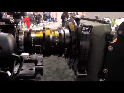 NAB 2012  - Zunow E-Mount & F3-Mount Lens