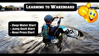 How To Wakeboard - Lesson 1