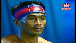 ឃីម ឌីម៉ា Vs គីម យ៉ុង, Khim Dima, Cambodia Vs Thai, Kimyun, Khmer Boxing 16 March 2019