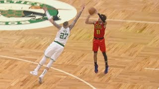Theis Blocks Trae Young's Game Winner Attempt! 2019-20 NBA Season
