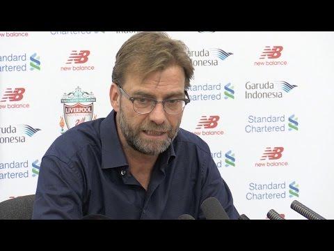 Jurgen Klopp's Pre-Match Press Conference - Swansea v Liverpool