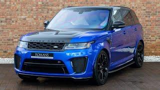 2018 Range Rover Sport 5.0 SVR - Velocity Blue - Walkaround, Interior & Exhaust Sound- High Quality