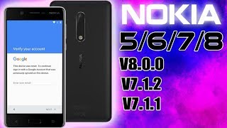 REMOVE FRP ALL NOKIA ANDROID BYPASS GOOGLE ACCOUNT LAST UPDATE