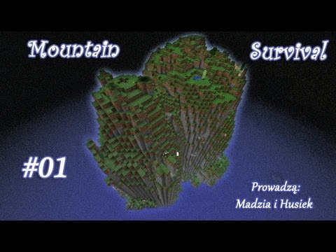 Minecraft Mountain Survival #01