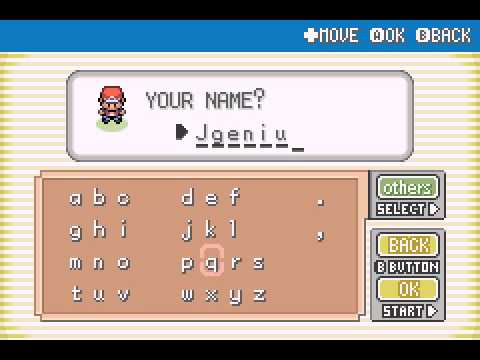 Pokemon Fire Red - Let
