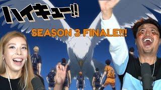 HAIKYUU!! FINALE!! SEASON 3 EPISODE 6/7/8/9/10 REACTION + REVIEW!