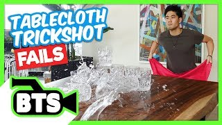 Tablecloth Trick FAILS (BTS)