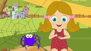Little Miss Muffet - Nursery Rhyme - Ep 12