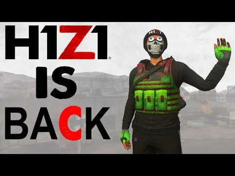 H1Z1 IS BACK! New H1Z1 Updates! H1Z1 King Of The Kill LIVESTREAM