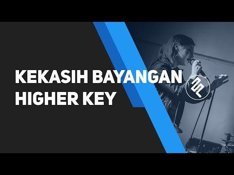 Cakra Khan   Kekasih Bayangan Piano Karaoke Instrumental   Higher Key   Lirik