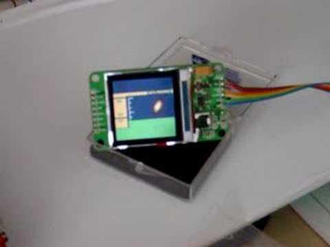 AVR controls Nokia 6100 LCD