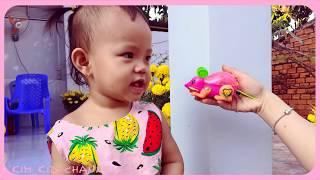 Trò Chơi Đi Săn Chuột Màu Hồng ❤ Thiên Kim TV ❤ Đồ Chơi Trẻ Em