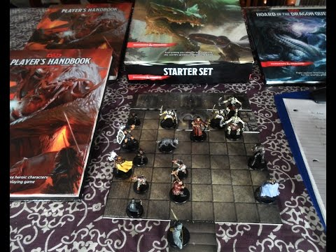 Dungeons & Dragons 5th Edition Game Play Review