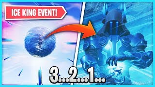 *NEW* ICE KING SPHERE EVENT in Fortnite: Battle Royale! (Season 7 SPECIAL EVENT)