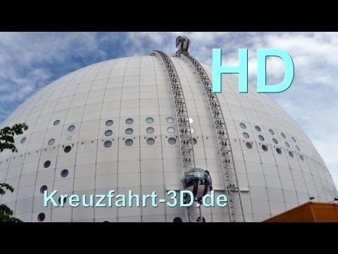 Extended SkyView Ericsson Globe Stockholm (Schweden / Sweden / Sverige) - HD / 2D