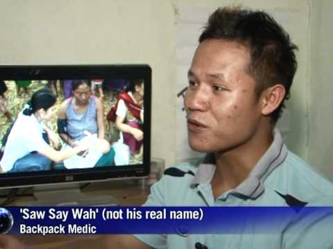 'Backpack medics' help eastern Myanmar's sick