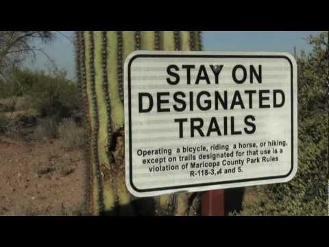 Usery Mountain Regional Park: Trail Etiquette