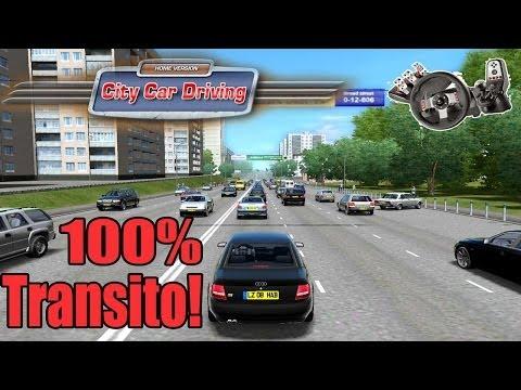 City Car Driving - Zuação com 100% de transito! G27