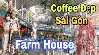 Farm House Coffee & Party - Cafe Kết Hợp Nhà Hàng Tổ Chức Tiệc Có Khu Vui Chơi Trẻ Em   SauSoc TV