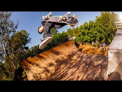 Tom Schaar & Lizzie Armanto - Malibu Ramp Session
