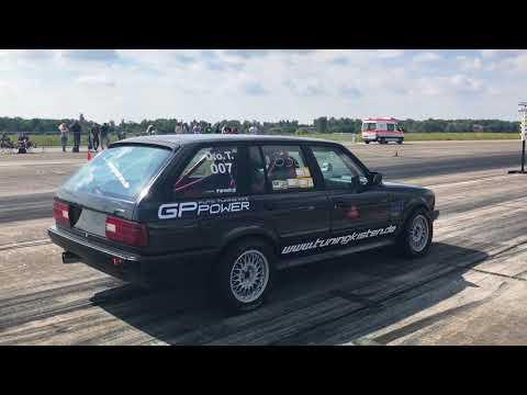 TTT BMW E30 325xi Turbo Tuningkisten Turboscheune Test & Tune 27.08.2017