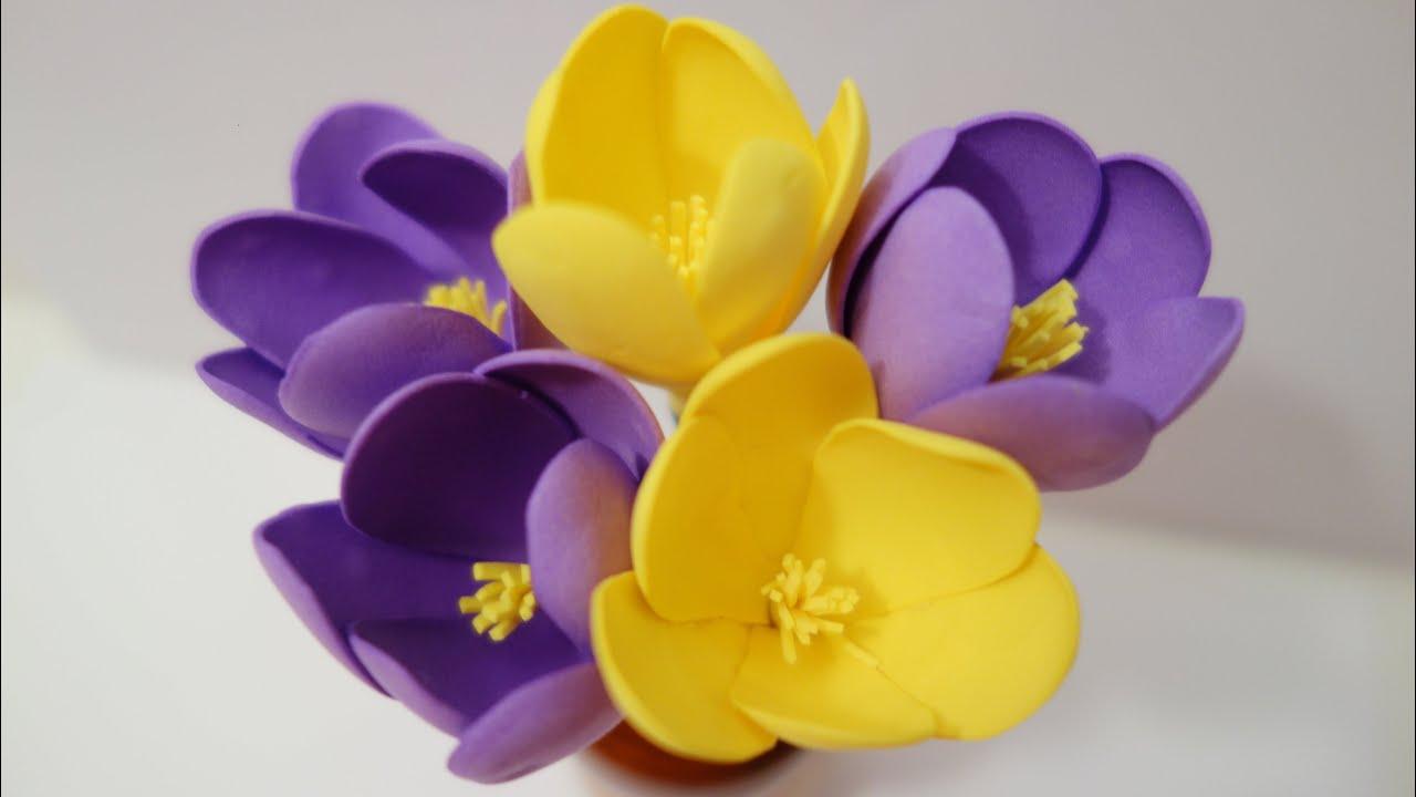 Цветы из фоамирана своими руками: мастер-класс для 62